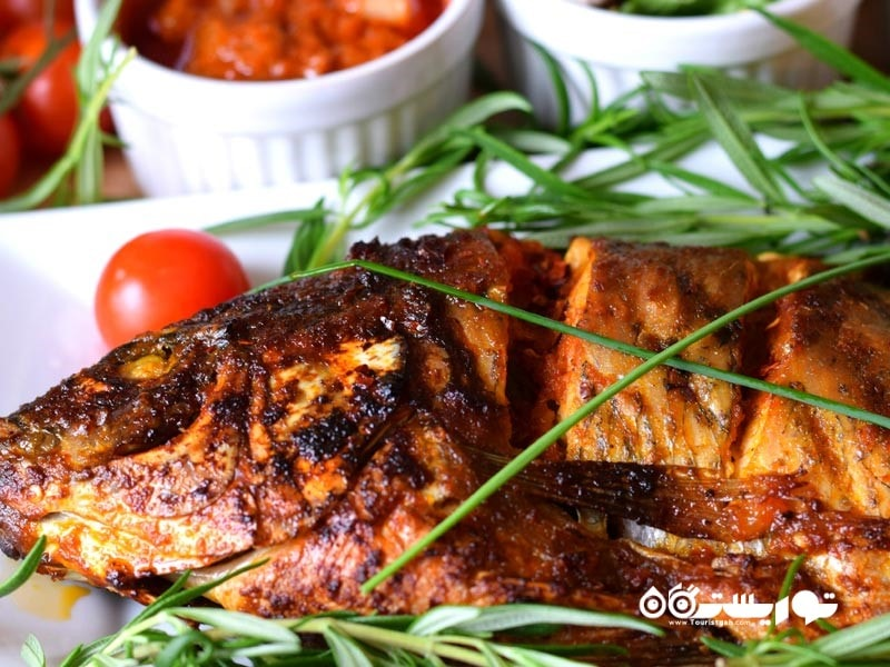 1- ماهی کبابی