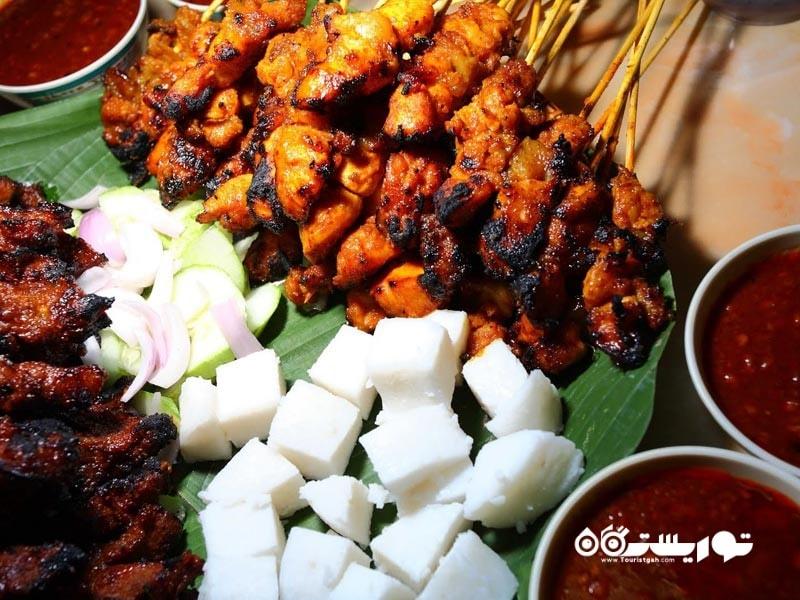 معرفی 22 غذای خیابانی کوآلالامپور برای عاشقان غذا