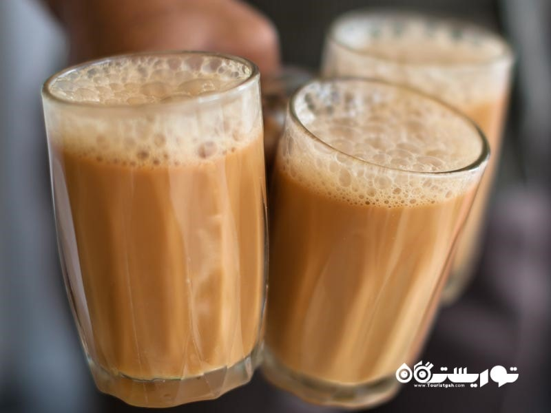 5- چای تِه تاریک آکا پول (Teh Tarik aka Pull Tea)