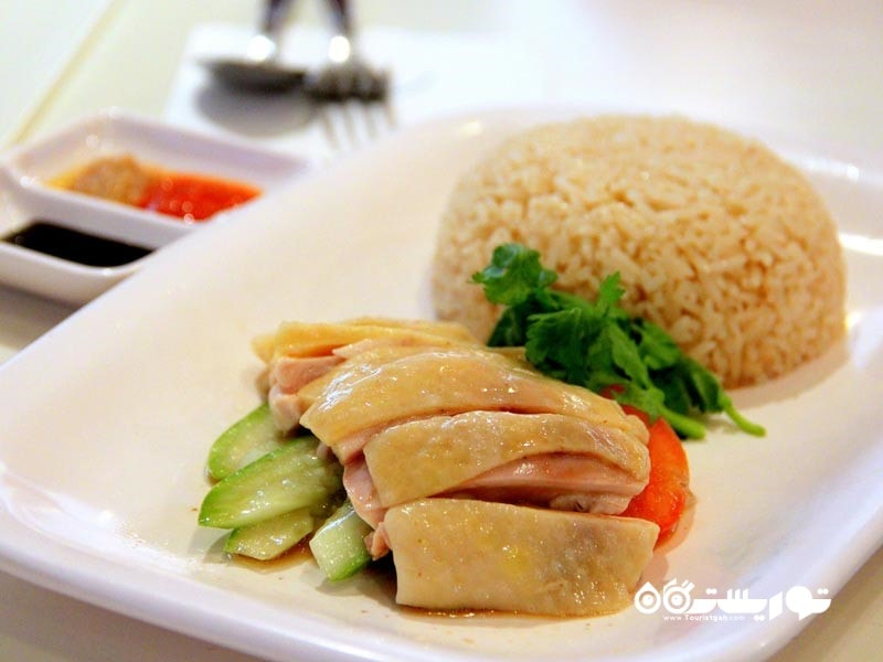 9- برنج و مرغ (Chicken Rice)