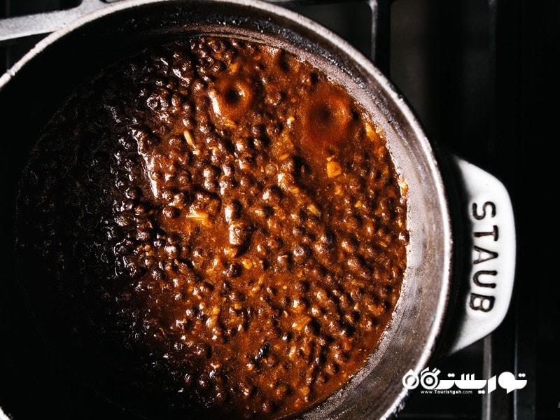 دال سیاه (BLACK DAL) در رستوران دیشوم (DISHOOM)