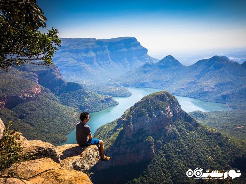 رودخانه دره ای دِ بِلاید، اِم پیو مالانگلا، آفریقای جنوبی