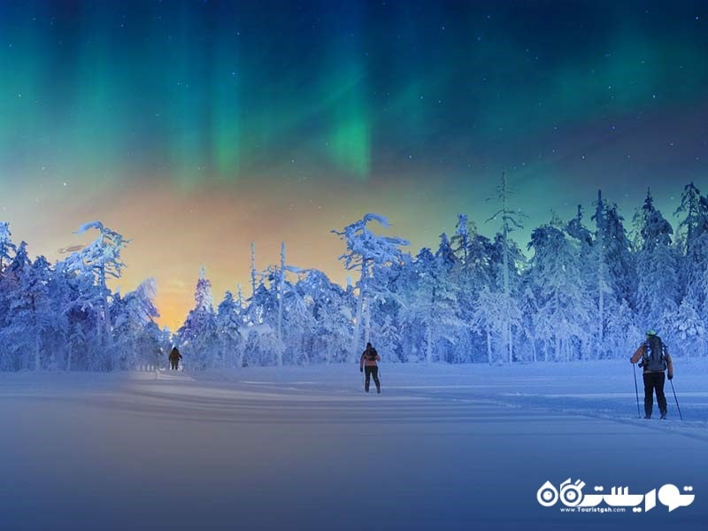 لیوای جزو برترین مکان های دیدنی فنلاند