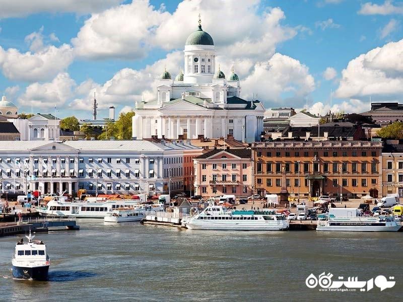 هِلسینکی جزو برترین مکان های دیدنی فنلاند
