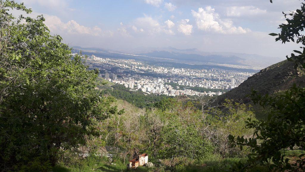 کوهنوردی در پارک جمشیدیه تهران