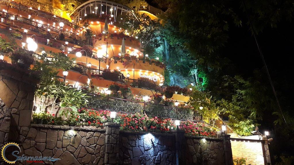 یک شب زیبا در دربند در سایت سفرنامه