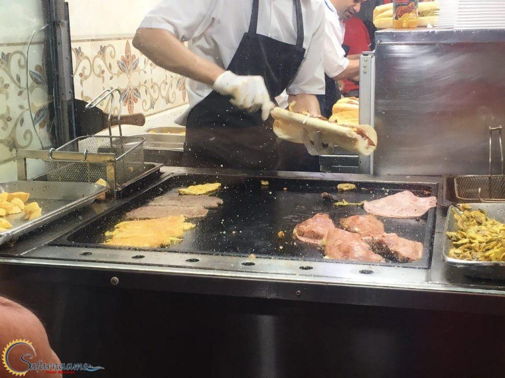 ساندویچ زاپاتا سهروردی در سایت سفرنامه