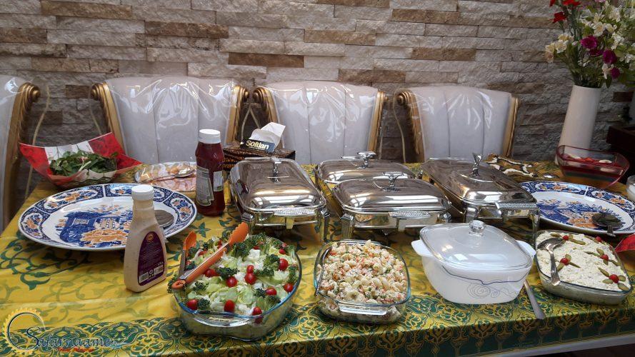 میز ناهار