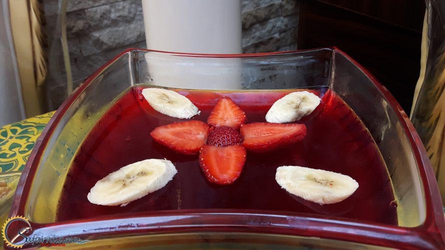 ژله چند میوه