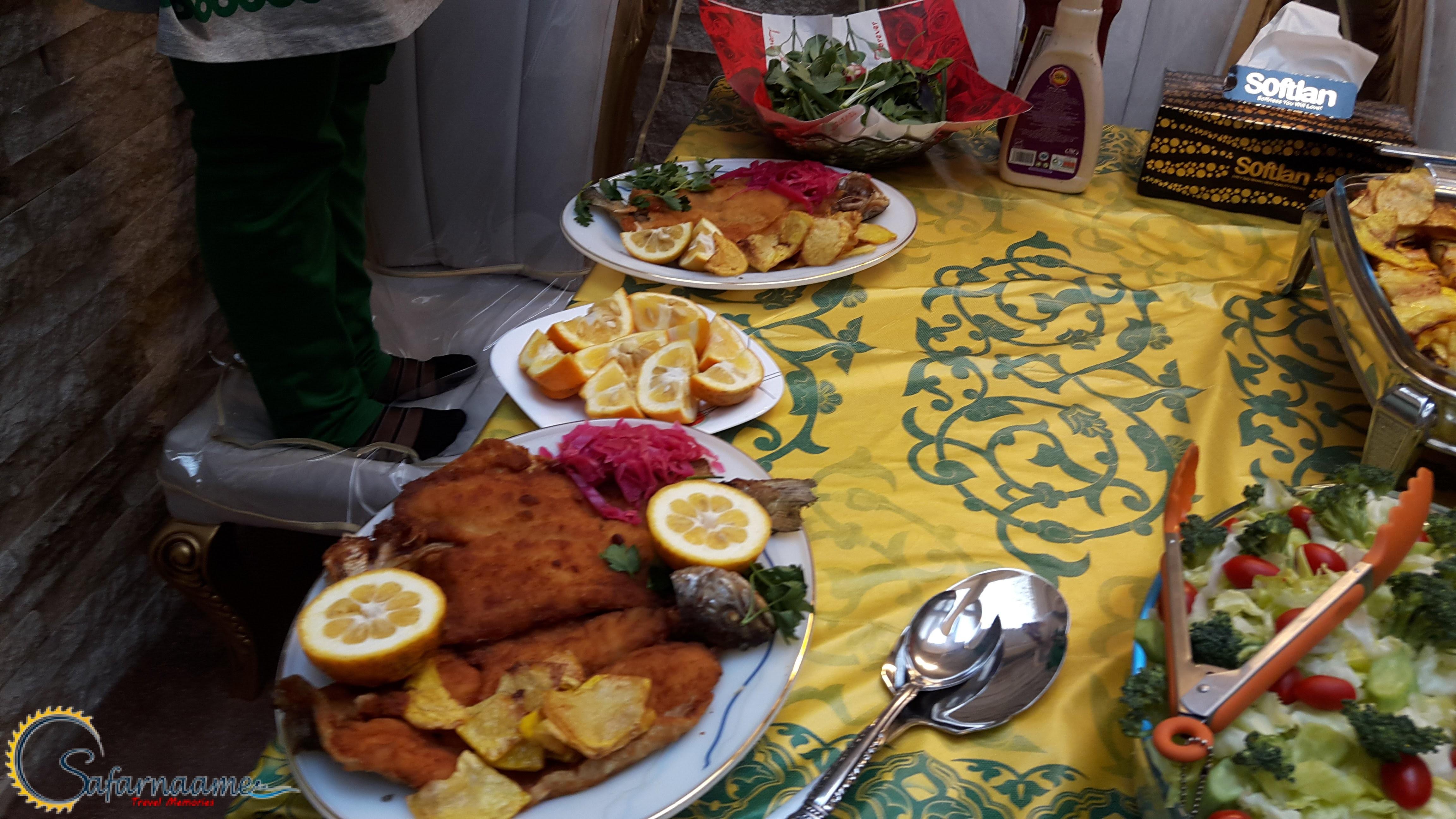خوراک ماهی غزل