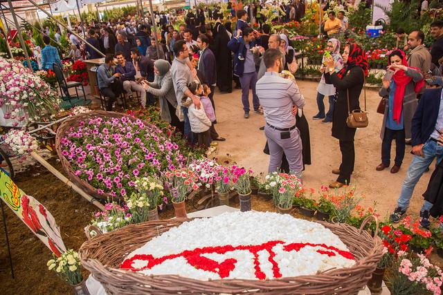 پانزدهمین نمایشگاه گل محلات