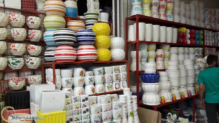 بازار گل محلاتی تهران در سایت سفرنامه