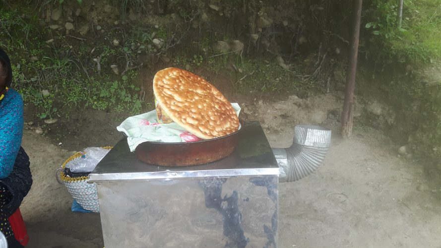 نان محلی جواهرده